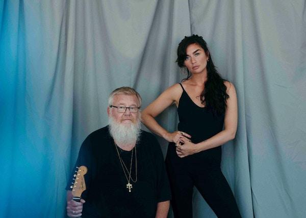 Far og datter Eberson får du se spille jazzkonsert på lekteren