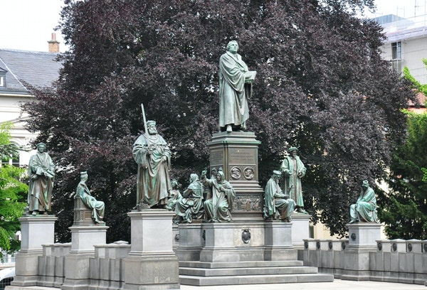 Lutherdenkmal i Worms