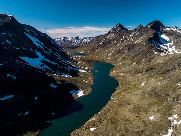 Utsikt over Jotunheimen.