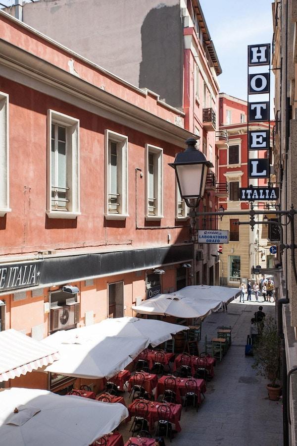 Bybilde fra Cagliari