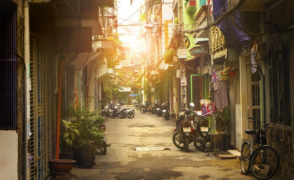 Ho Chi Minh-byen, Vietnam.