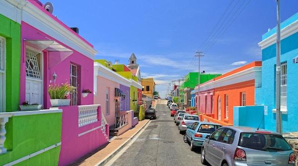 Over Cape Township i Cape Town