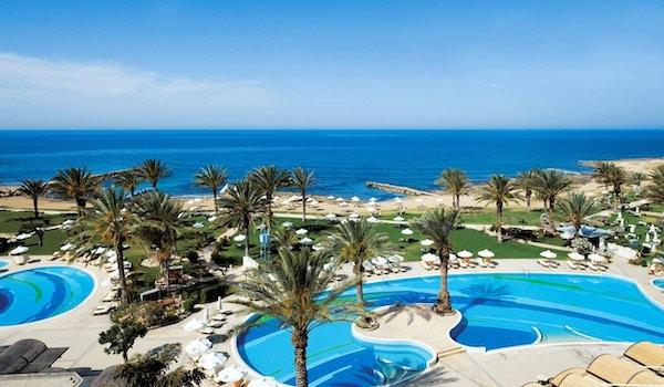 Panoramautsikt av uteområde, Athena Beach Hotel
