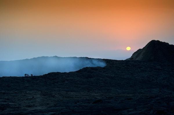 Erta Ale er en av det mest aktive vulkanene i verden.