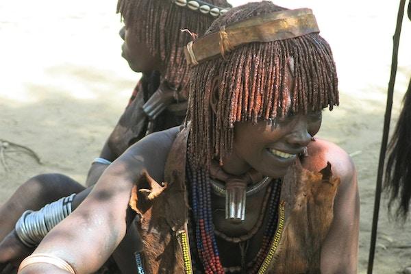 Lærerike møter med urbefolkningen i Etiopia