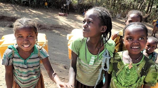 Etiopere er gjestfrie mennesker og barna er intet unntak!