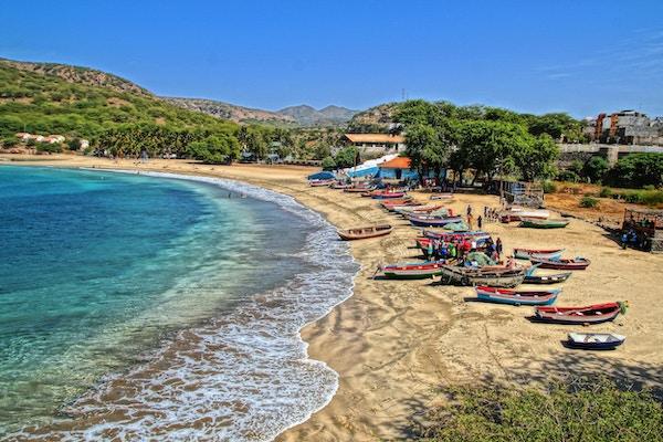 Tarrafal regnes som den fineste stranden på Santiago.