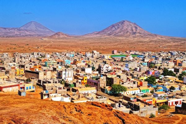 Hovedstaden Espargos på øya Sal er er vel verd et besøk.