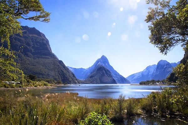 Fiordland på New Zealand er så vakkert, så vakkert ...