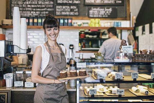 God kaffe og deilige kaker i Sydney.