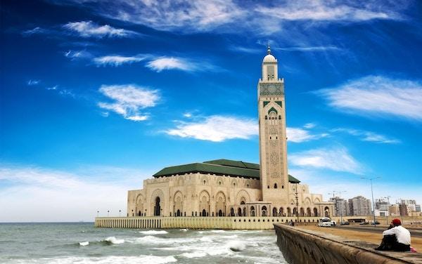 Hassan II-moskeen i Casablanca, Marokko