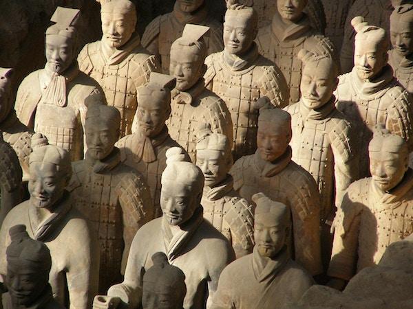 Xi'an - Terrakottahæren.