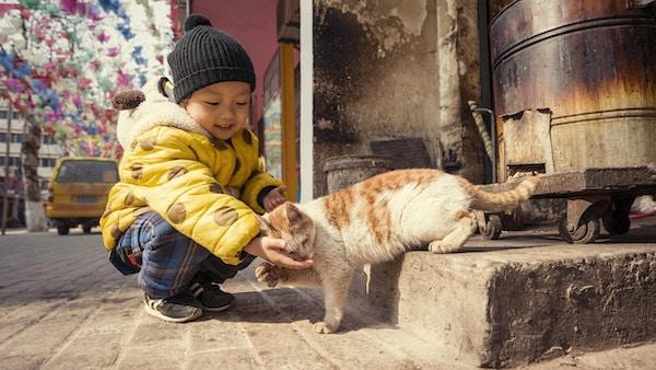 Ti etiske minoriteter lever i Guilin.