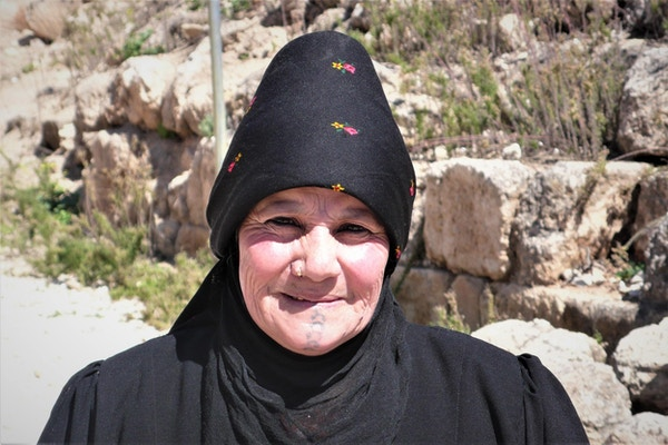 Spennende møter med lokalbefolkningen i Jordan.