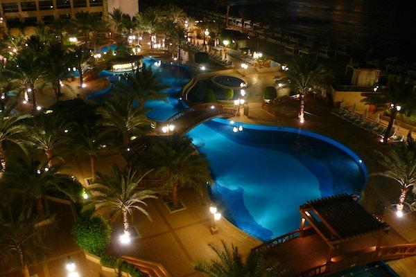 Flott hotell i Aqaba, Jordan.