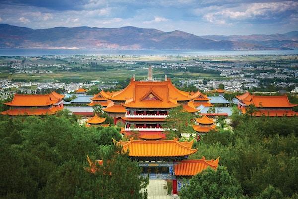 Tempe i Dali, Kina
