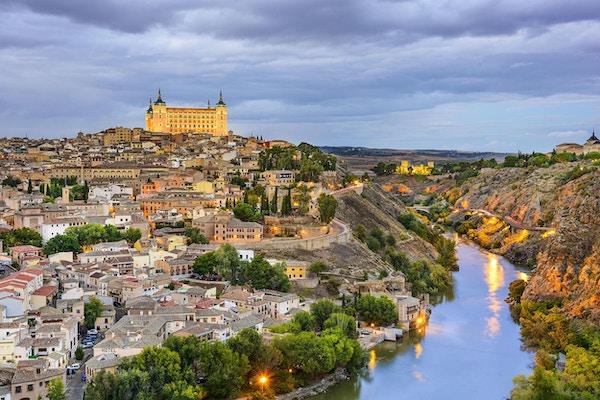 Panoramabilde over Toledo.