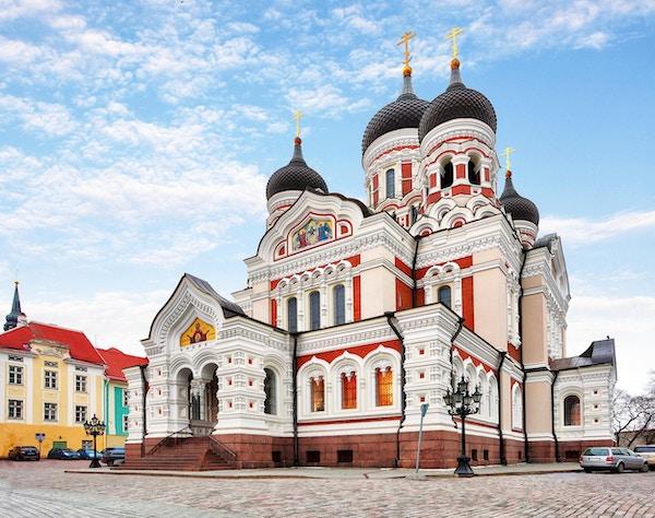 Alexander Nevsky-katedralen i Tallinn gamleby, Estland
