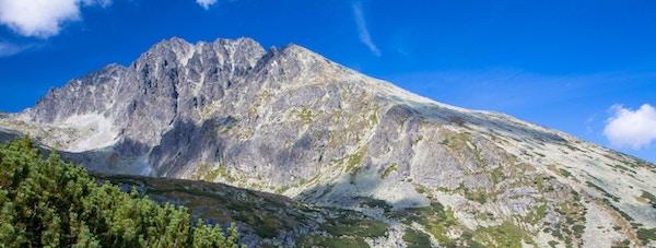 Gerlachovsky-toppen i Tatras-fjellene, Slovakia.