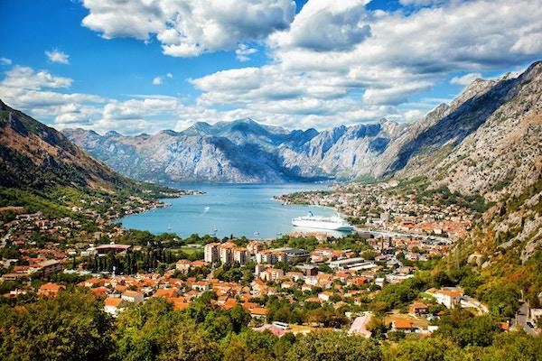 Kotor på en vakker sommerdag, Montenegro