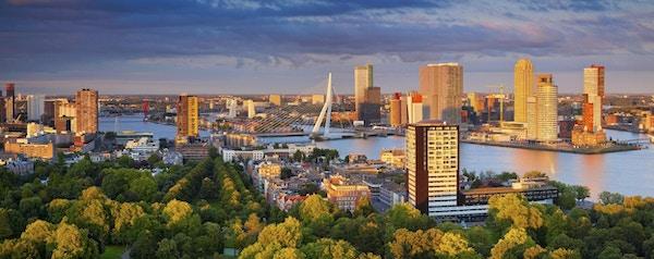Rotterdam i Nederland.