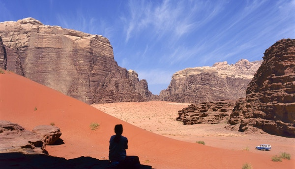 Safari i Wadi Rum-ørkenen, Jordan