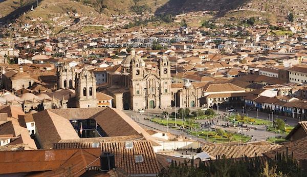 Det er en opplevelse å vandre rundt i historiske Cusco.