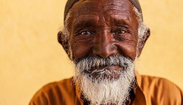 Mann fra Egypt.