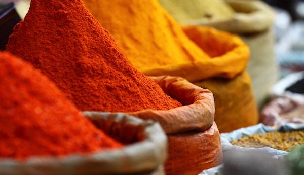 Tradisjonelt kryddermarked