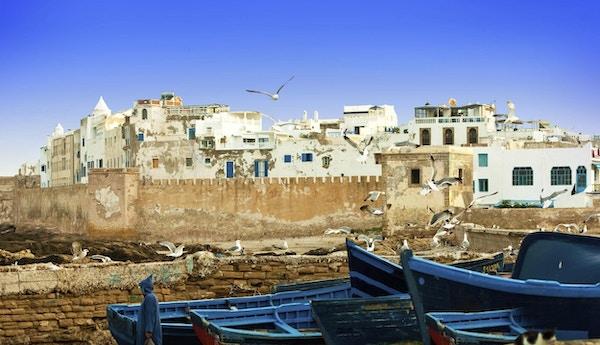 I bilfrie Essaouira finner du Marrokos beste sølvmarked.