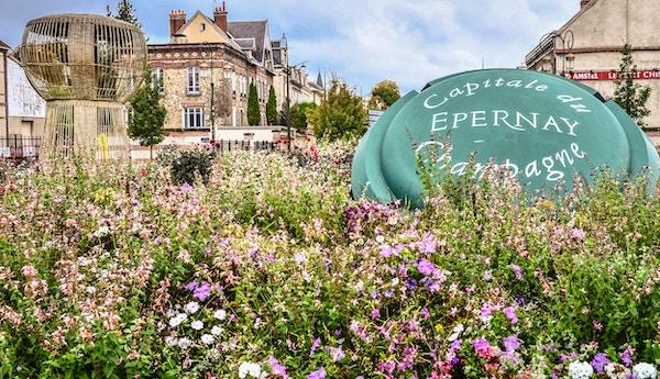 Epernay Champagne-hovedstaden
