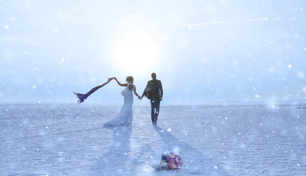 Nygifte i Salt Lake, Tyrkia.