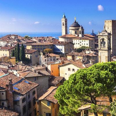 Utsikt over Bergamo