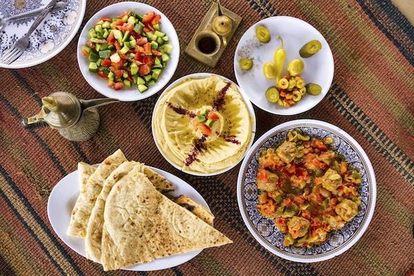 Deilig mat fra Midtøsten: en fest i Jordan