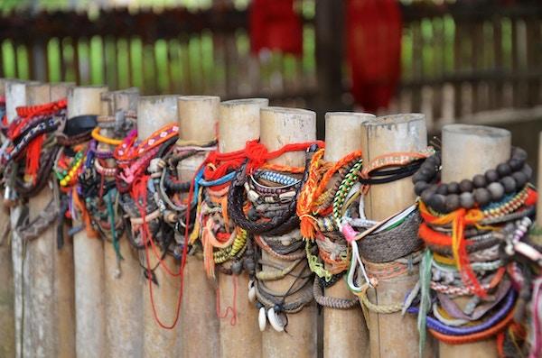 Choeung Ek, de såkalte Killing Fields like utenfor Phnom Penh, Kambodsja.