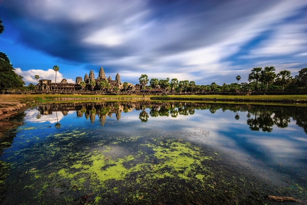 Angkor Wat i Kambodsja.
