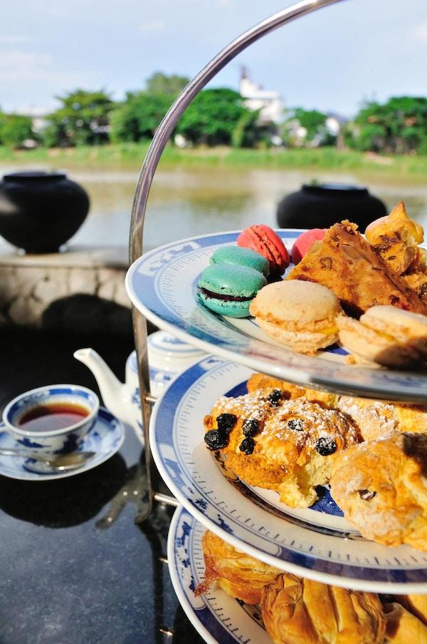 Afternoon tea i England.