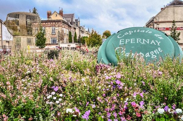 Epernay, Champagne-hovedstaden.