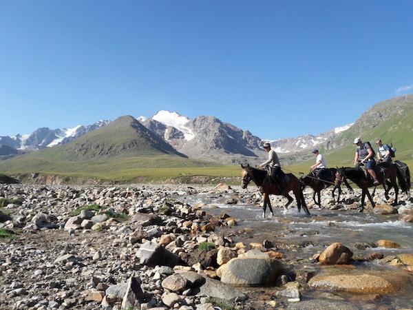 kol Ukok-trek med hester i Kirgisistan