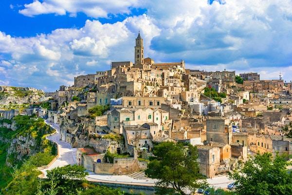 Sassi de Matera, Puglia