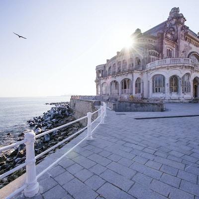 Den gamle casinobygningen i Constanta, Romania