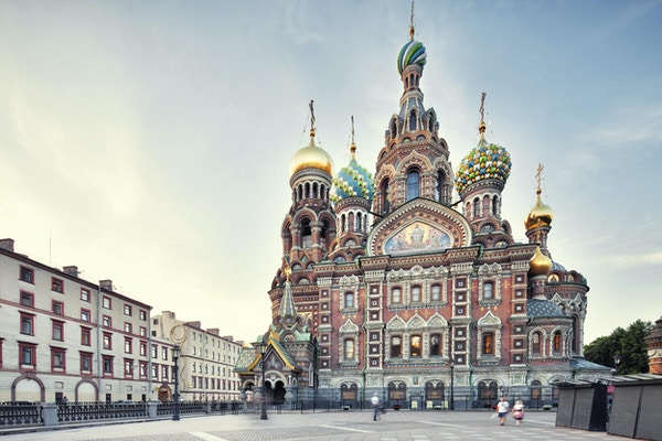 Bygget i 1907 i St. Petersburg, Russland.