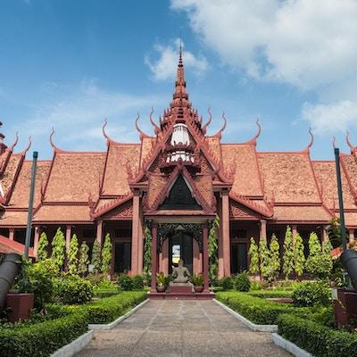 Nasjonalmuseet i Phnom Penh, Kambodsja
