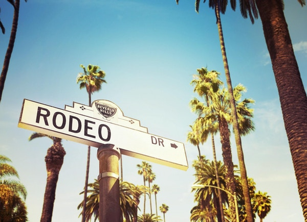 Rodeo Drive i Beverly Hills