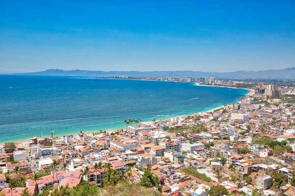 Puerto Vallarta i Mexico.