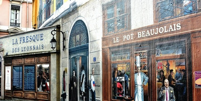 Veggmalerier i Lyon