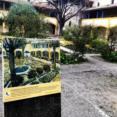 Sykehus i Arles hvor Van Gogh var innlagt