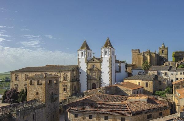 Gamlebyen i Cáceres, Spania