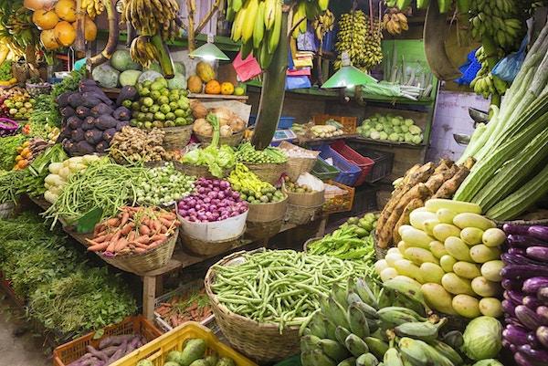 Lokalt marked i Nuwara Eliya, Sri Lanka