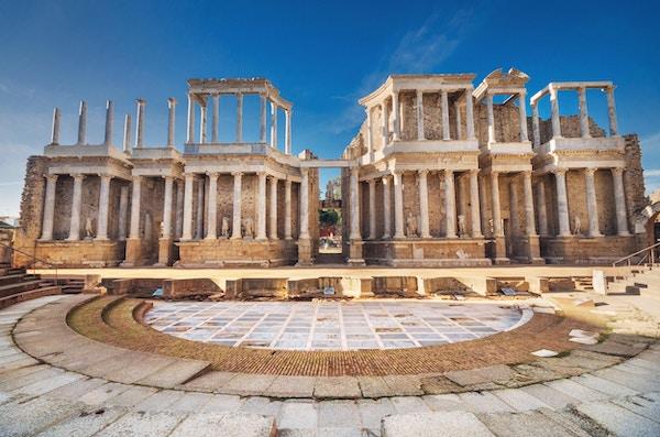 Det romerske teateret i Mérida, Spania
